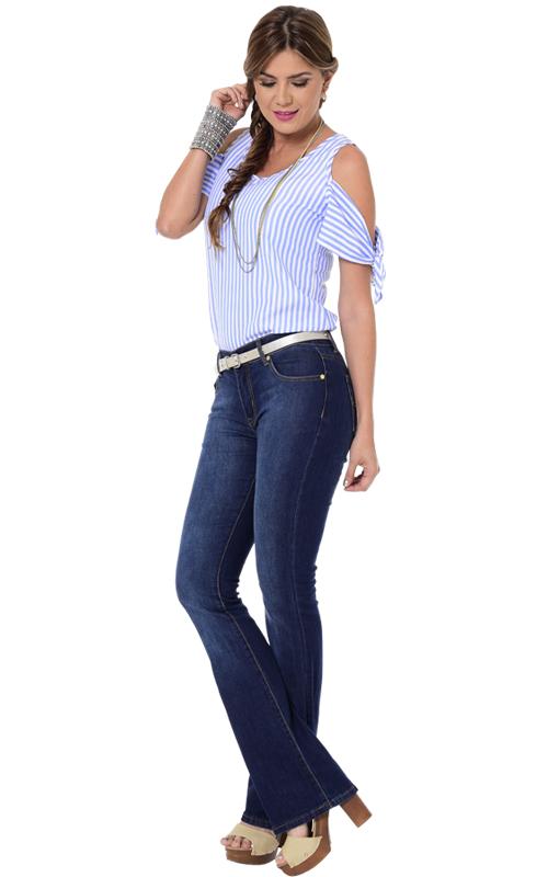 ee93835351 Extra Company – Blusa- Jean